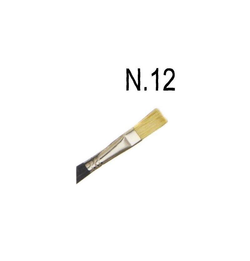 PENNELLO PIATTO N.12