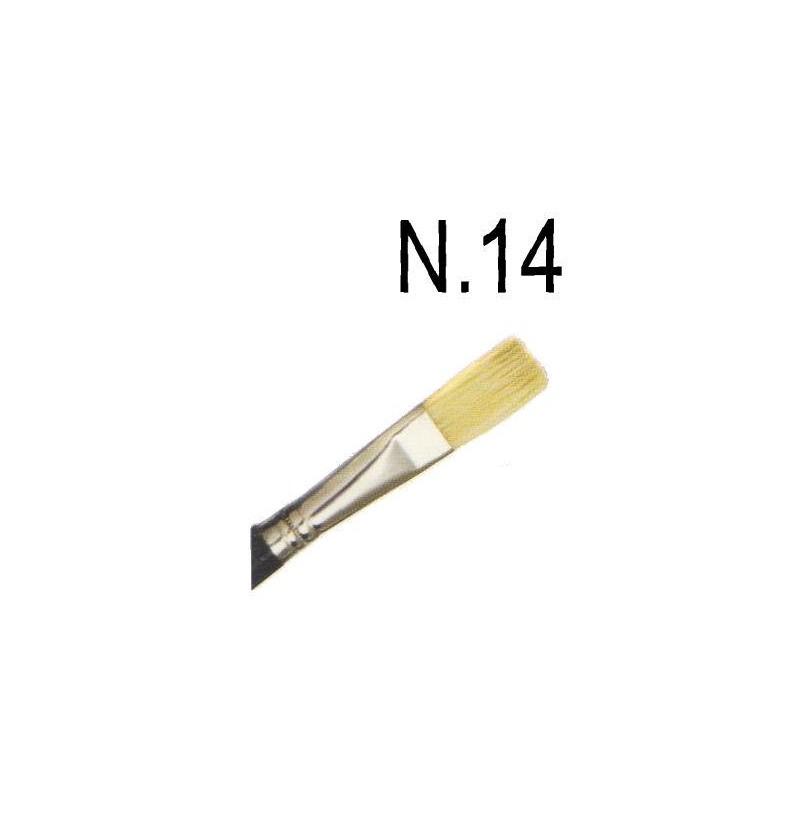 PENNELLO PIATTO N.14