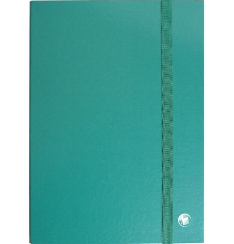PORTAPROGETTI C/ELASTICO D10 25X35 Verde
