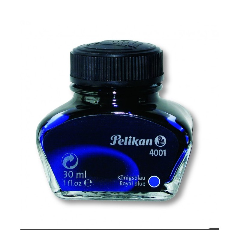FLACONE INCHIOS.STILO PELIKAN 4001 30ML Blu Royal
