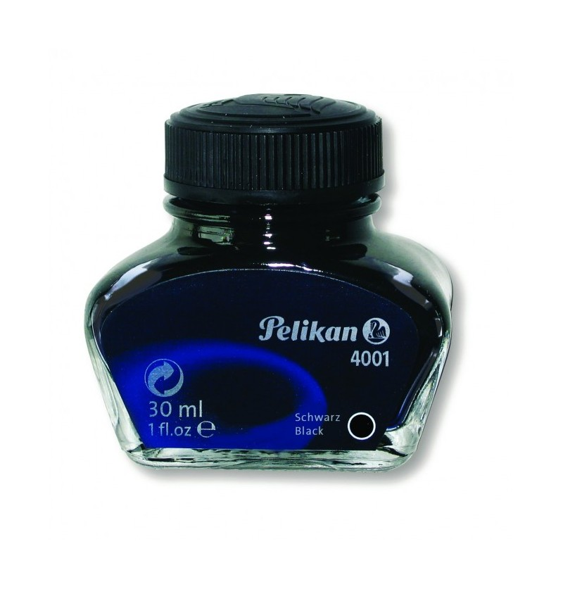FLACONE INCHIOS.STILO PELIKAN 4001 30ML Nero