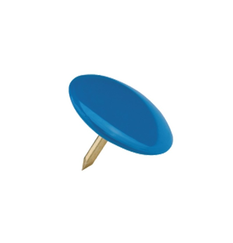 50 puntine da disegno blu Puntine colore trasparente
