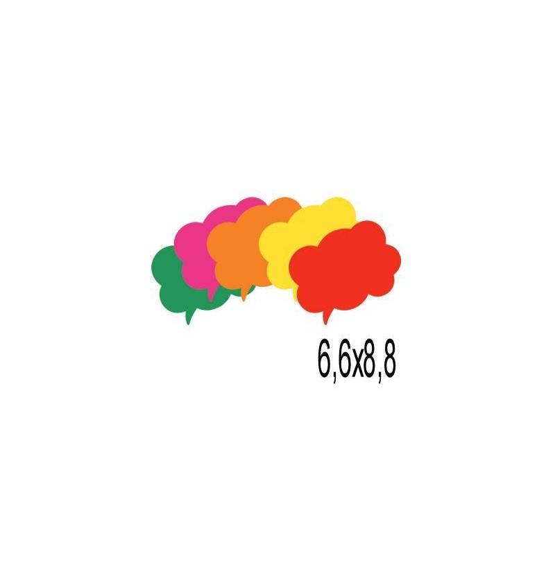 SEGNAPREZZI NUVOLETTA 6,6X8,8 100PZ 036