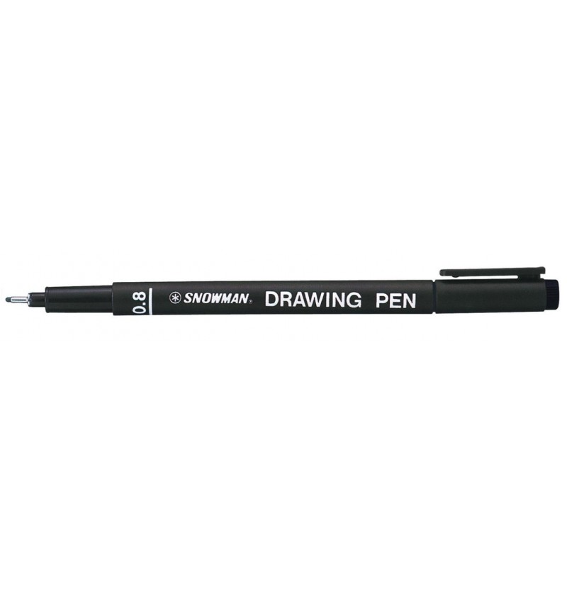 PENNA WIGO DRAWING PEN 08 Nero