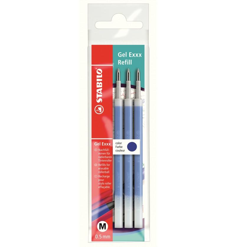 refill-stabilo-gel-exxx-cancellabile-0,5-3pz-blu