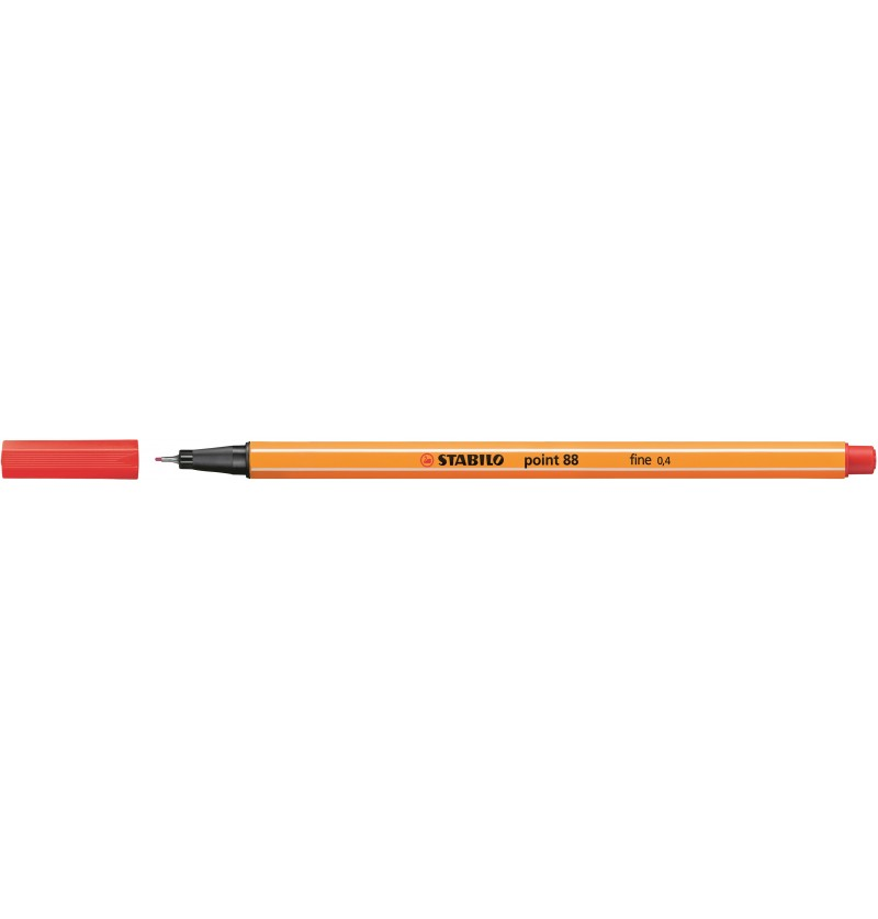 PENNA STABILO POINT 88/40 Rosso