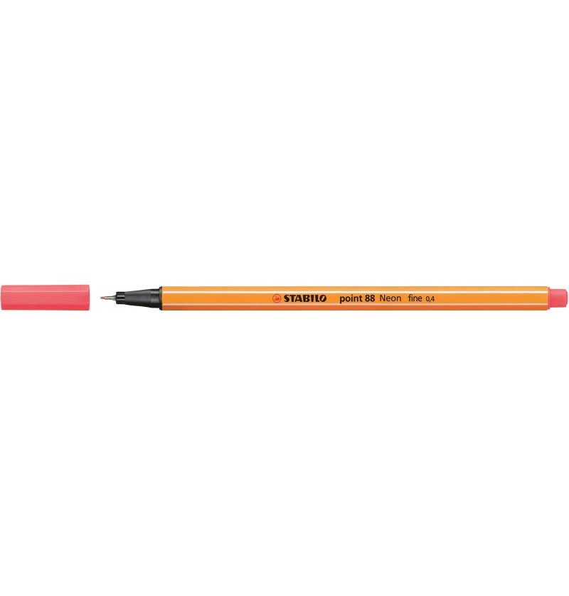 PENNA STABILO POINT 88/040 Rosso Fluo