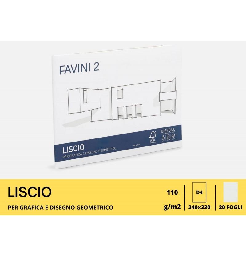 ALBUM FAVINI GR110 FG20 24X33 C/A Liscio