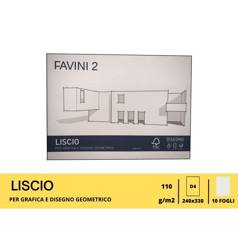 ALBUM FAVINI GR110 FG10 24X33 Liscio