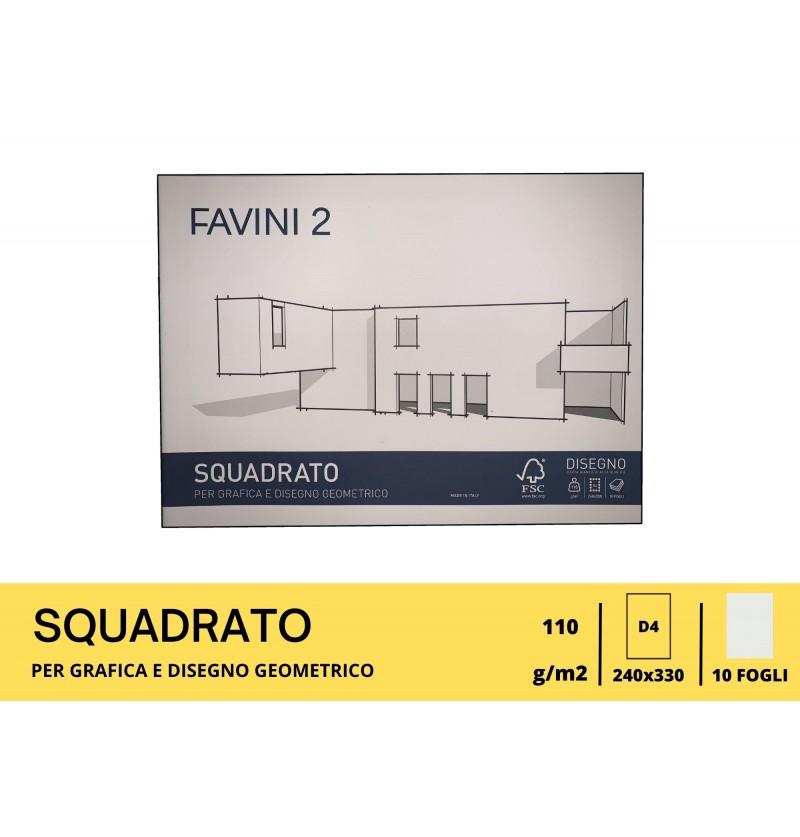 ALBUM FAVINI GR110 FG10 24X33 Liscio Squadrato