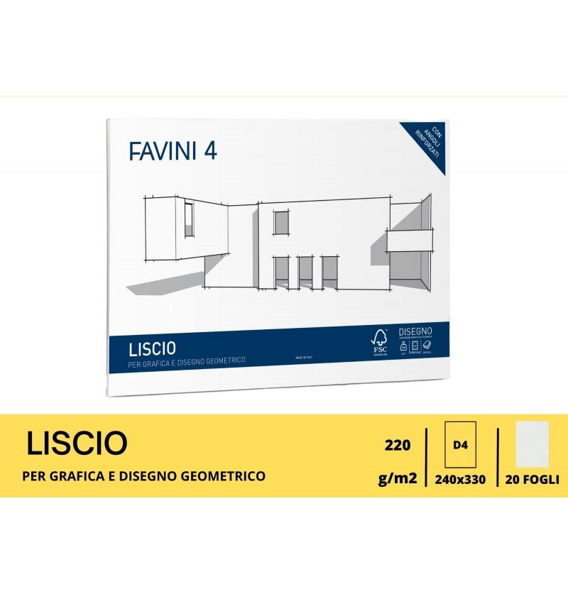 ALBUM FAVINI GR220 FG20 24X33 Liscio