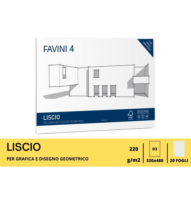ALBUM FAVINI GR220 FG20 33X48 Liscio