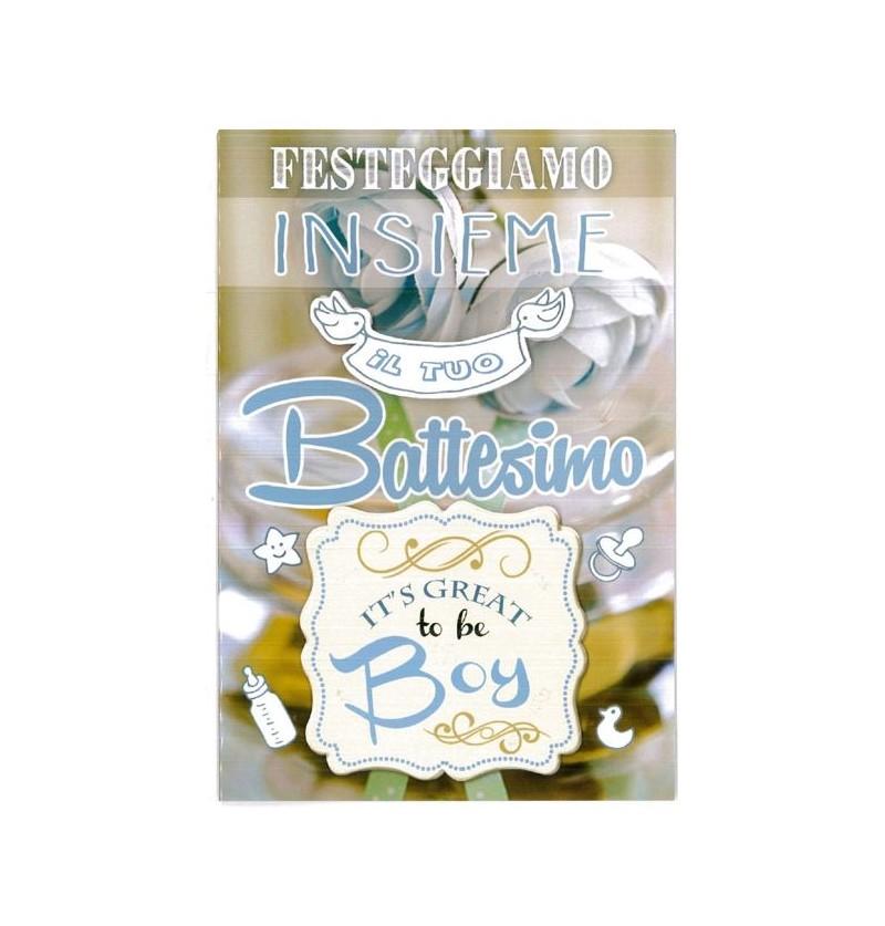 BIGLIETTI BATTESIMO G311/4 @